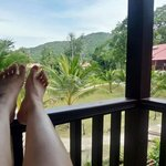 view outside our verandah