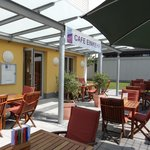 """Das gemütliche """"Café Einkehr"""" des Kneipp Traditionshauses"""