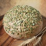 Our stone mill makes the freshest flour- and the freshest whole grain breads!