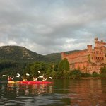 Kayaking at Bannerman's Castle