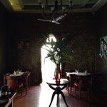 Dining area inside��