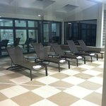 Chairs at the pool