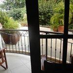 Balcony in room 11