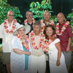 At the Fairmont Orchid Gathering Kings Luau