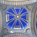 la cúpula del edificio de entrada