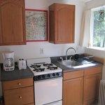 Overlook Apartment Kitchen