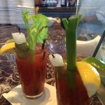 Don't miss the amazing bloody Mary's (go with grey goose)
