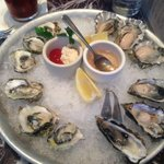 Try all the different types of oysters you wont regret it