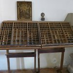 printing press movable type storage cases