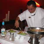 Preparing a Special Meal in the Mexican Restaurant