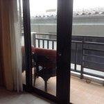 balcony area in deluxe balcony room