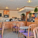 Our breakfast bar is available each morning