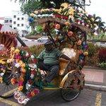A Chitty rickshaw puller