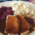 Pork Tenderloin,cabbage & german potato salad