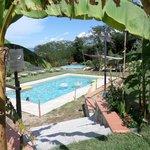 La bella piscina.