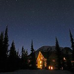 Paradise Inn, Mt. Rainier and the stars