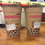 Bubble tea (cold) from cuppacha