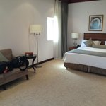 Room with king size bed