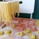 some of the pasta we made