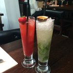 Strawberry Cup & Passionfruit Mojito