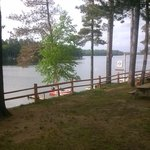 "view from our cabin ""The Cedar"""