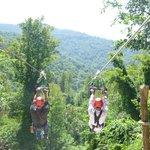 3600 feet long, 350 feet above the valley floor