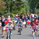 Children in the 4th of July parade