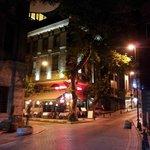 Hotel Spectra by night