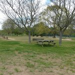 Horseshoes & picnic tables Lums Pond