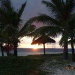 Sunrise on Belle Mare Beach