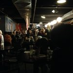 The crowd at The Underground Lounge.