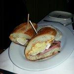 ham sandwich ... forgot the name