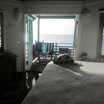 ocean front hut