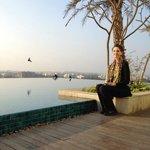 Rooftop pool, Swissotel Kolkata