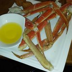 Crab legs were excellent, though I wish they served salted butter.