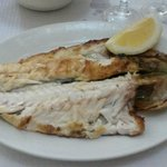 The tenderest grilled bass