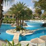 Visione piscina centrale