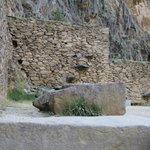Construções em pedra de Ollanta