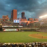 Sunset at Target Field