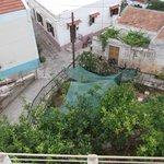 Garden view at Sevasti
