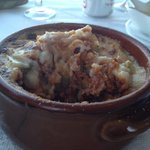 Truly the worst moussaka I think I have ever come across. Were we unlucky. I truly don't think s
