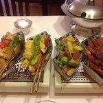 4 plats du menu Phuket
