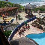 View from Palapa 1