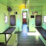 inside caboose