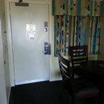 door to room