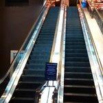 Entrada - escada rolante