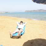 On the beach-250meters from the Melina's House