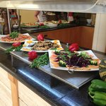 Some of the buffet selection