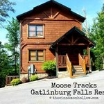 Moose Tracks Cabin front view