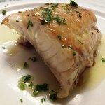Mero a la plancha - Restaurante Can Bolet (Lloret de Mar)